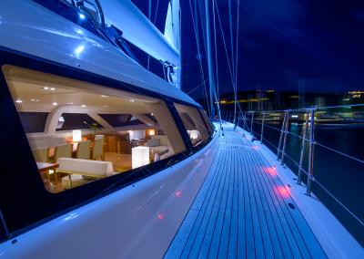 Night Sky on deck