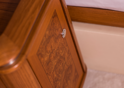 furniture detailing to the master suite of SY Twilight